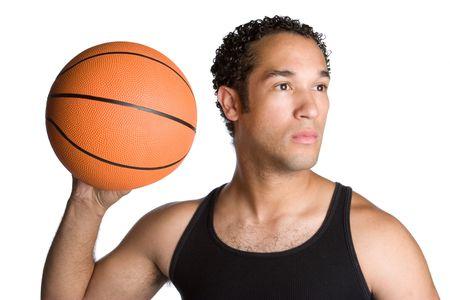 Man With Basketball Stock Photo - 5247368