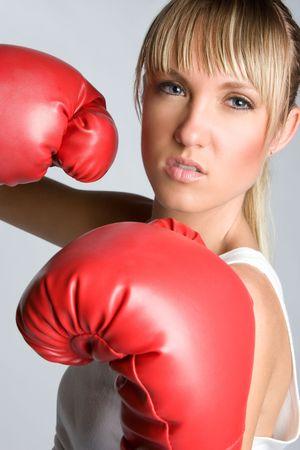 Woman Boxing Stock Photo - 5273412