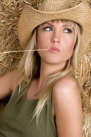 Beautiful Cowgirl Stock Photo - 5273430