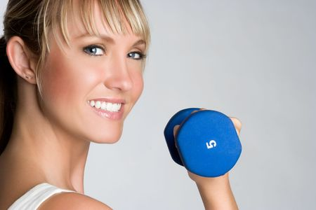 Girl Exercising Stock Photo - 5288572