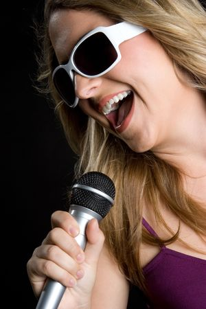 Singing Girl Stock Photo - 5288589