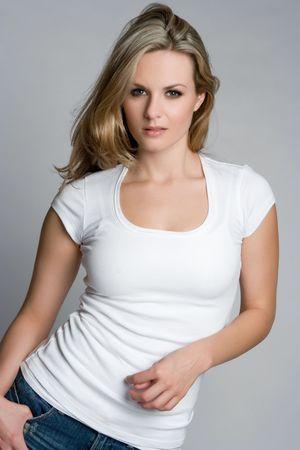 Blond Woman Stock Photo - 5343395