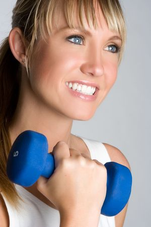 Happy Fitness Girl Stock Photo - 5343401