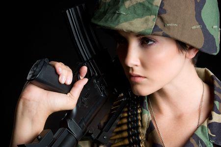 camos: Army Girl