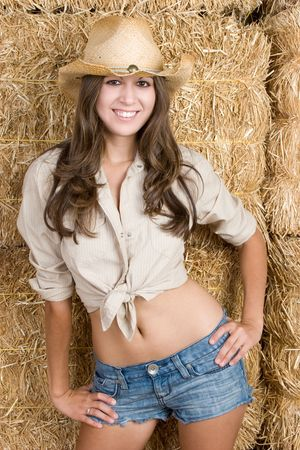 Country Woman Stock Photo - 5343408