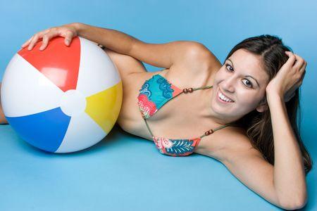 beach ball girl: Beach Ball Chica LANG_EVOIMAGES