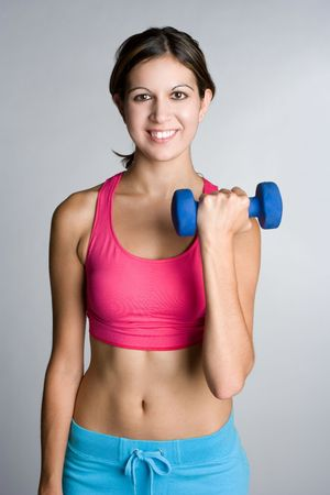 Lifting Weights Stock Photo - 5343441