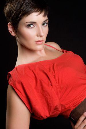 Gorgeous Brunette Model Stock Photo - 5372615