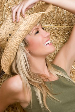 Gorgeous Cowgirl Stock Photo - 5372601