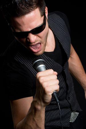 Rock Star Man Stock Photo - 5372604