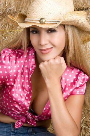 Latin Cowgirl Stock Photo - 5383951
