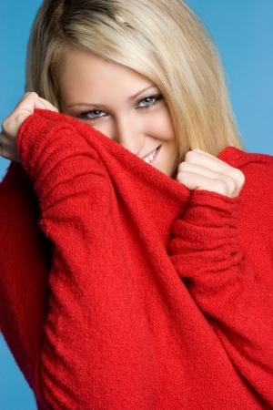 Playful Winter Girl Stock Photo - 5494588