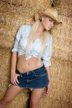 Country Girl Stock Photo - 5494590