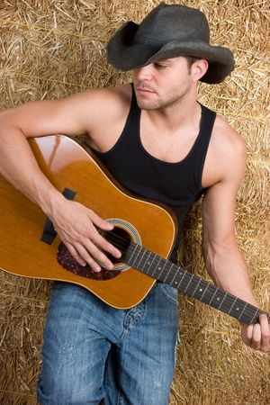 Country Music Man Stock Photo - 5501377