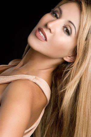 blonde hispanic: Latin Woman