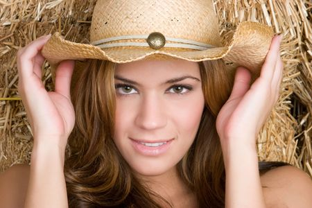 Beautiful Country Girl Stock Photo - 5501412