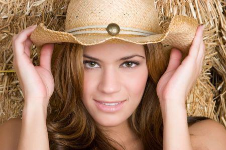 Beautiful Country Girl Stock Photo - 5501412