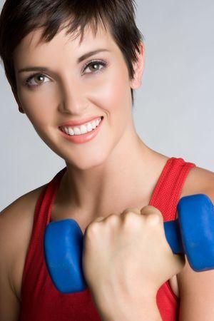 Fitness Exercise Girl Stock Photo - 5501463