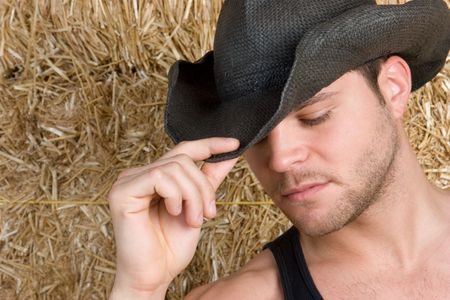 cowboy up: Handsome Country Man