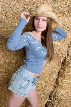 Pretty Country Girl photo