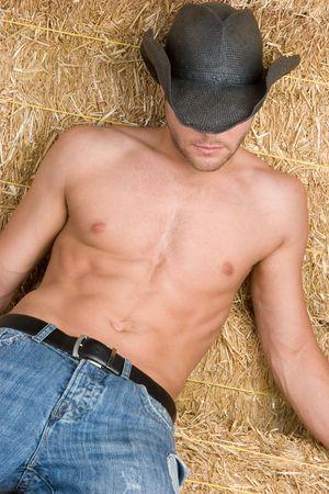 Sexy Cowboy Stock Photo - 5518768