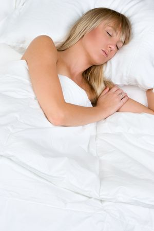 Sleeping Woman Stock Photo - 5501494