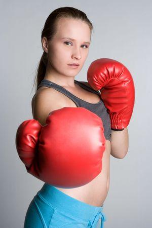 Female Boxer Stock Photo - 5526186