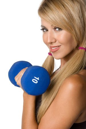 Latina Woman Working Out Stock Photo - 5559742