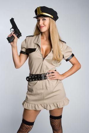 Halloween Cop photo