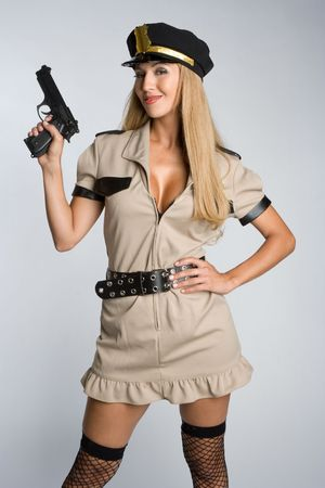 Halloween Cop Stock Photo - 5531775