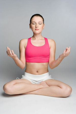 Yoga Woman Stock Photo - 5591222