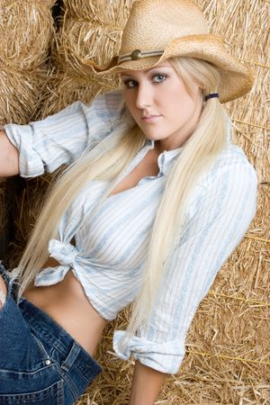 Cowgirl Stock Photo - 5559756