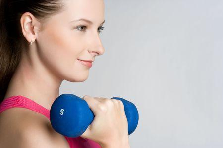 Happy Fitness Woman Stock Photo - 5591230