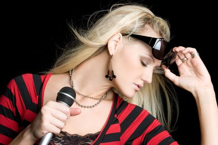 Rock Star Girl Stock Photo - 5591248