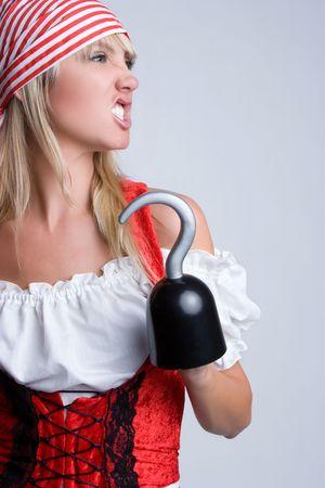 bandana girl: Angry Pirate LANG_EVOIMAGES