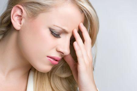 headaches: Woman With Headache