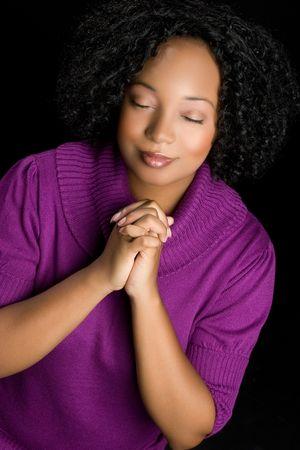 Woman Praying Stock Photo - 5668624