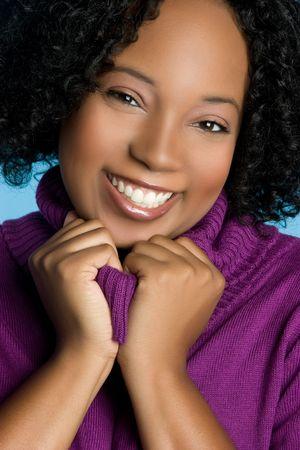 Happy African American Girl Stock Photo - 5668643