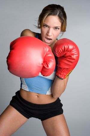 Boxing Girl Stock Photo - 5716141