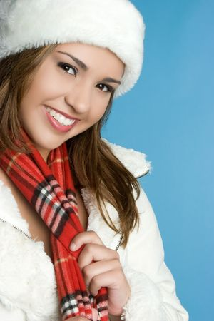 sciarpe: Beautiful Winter Woman