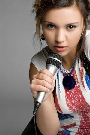 kareoke: Young Girl Singing