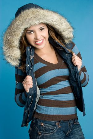 Winter Woman Stock Photo - 5770633
