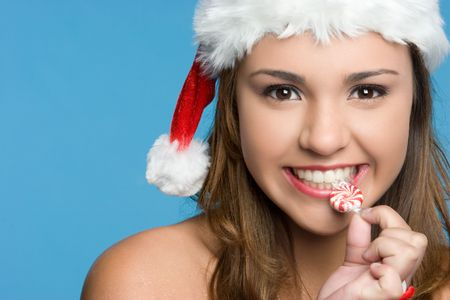 Candy Christmas Girl LANG_EVOIMAGES