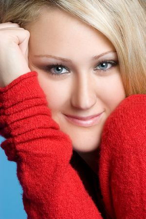 Smiling Young Woman Stock Photo - 5844872