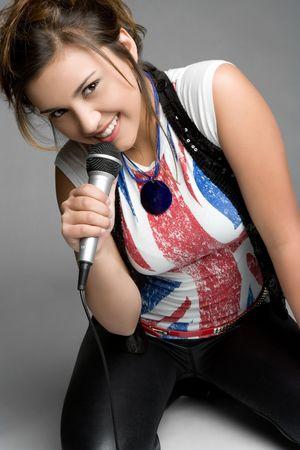 Rock Star Teen Girl