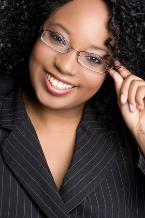 African American Businesswoman Stock Photo - 5844917