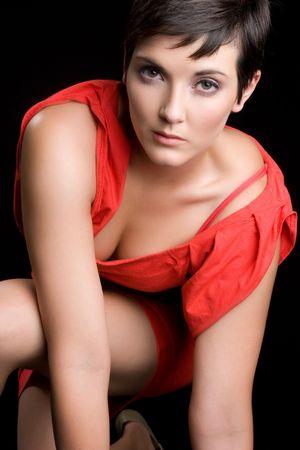 Sexy Fashion Model Posing Stock Photo - 5857851