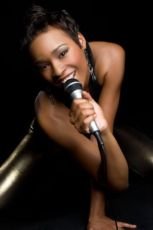kareoke: Black Female Singer LANG_EVOIMAGES