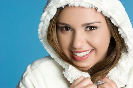 Beautiful Winter Teen Stock Photo - 5898930