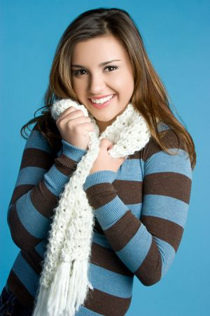 Pretty Winter Woman Stock Photo - 5898933